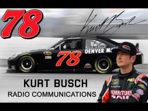 Kurt Busch Radio Communications: Kansas