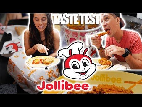 JOLLIBEE TASTE TEST - Vietnam vs. Philippines