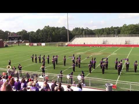 Ranburne High School Bulldog Band - Bowden Invitational 2018
