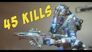 TITANFALL 2: Pretty Awesome Volt and Ion Gameplay 45 Kills