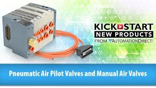 Пілот пневматичний клапан повітря і ручні повітряні клапани Кікстарта