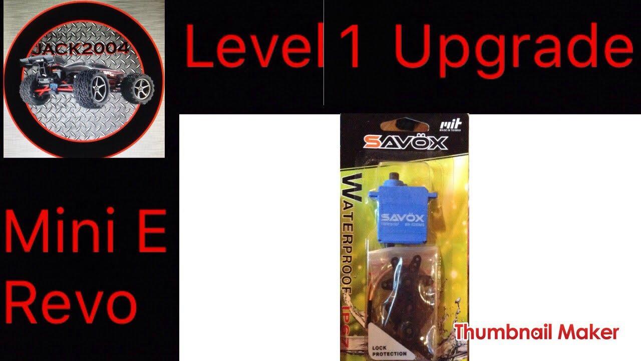 JACK2004| Mini E Revo level 1 upgrade savox servo
