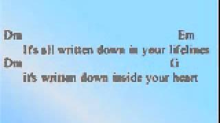 Scorpion You and I Lirics Chords