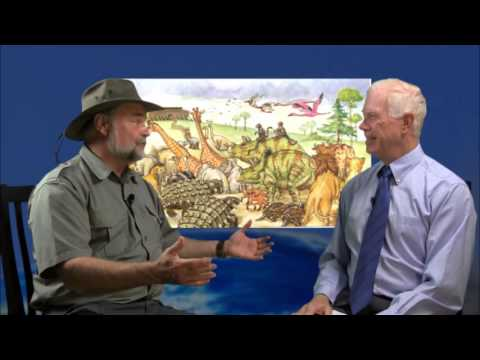 Buddy Davis, a real dinosaur man 2 -Mike Riddle