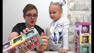 ЛОЛ ЧЕЛЛЕНДЖ !!!  Лева против Алисы !!! Чья кукла LOL лучше и красивее!