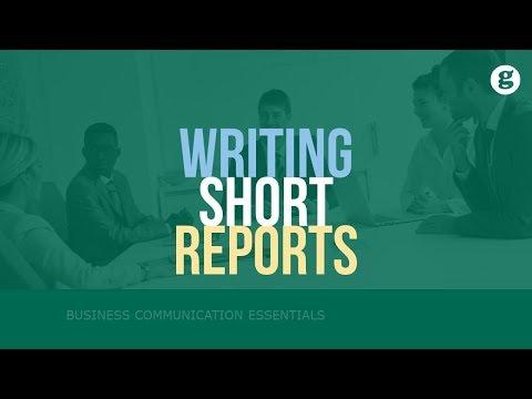 Writing Short Reports