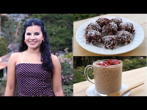 5 Paleo snack/dessert ideas