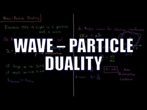 Quantum Chemistry 1.6 - Wave-Particle Duality