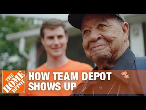 How Team Depot Shows Up | The Home Depot