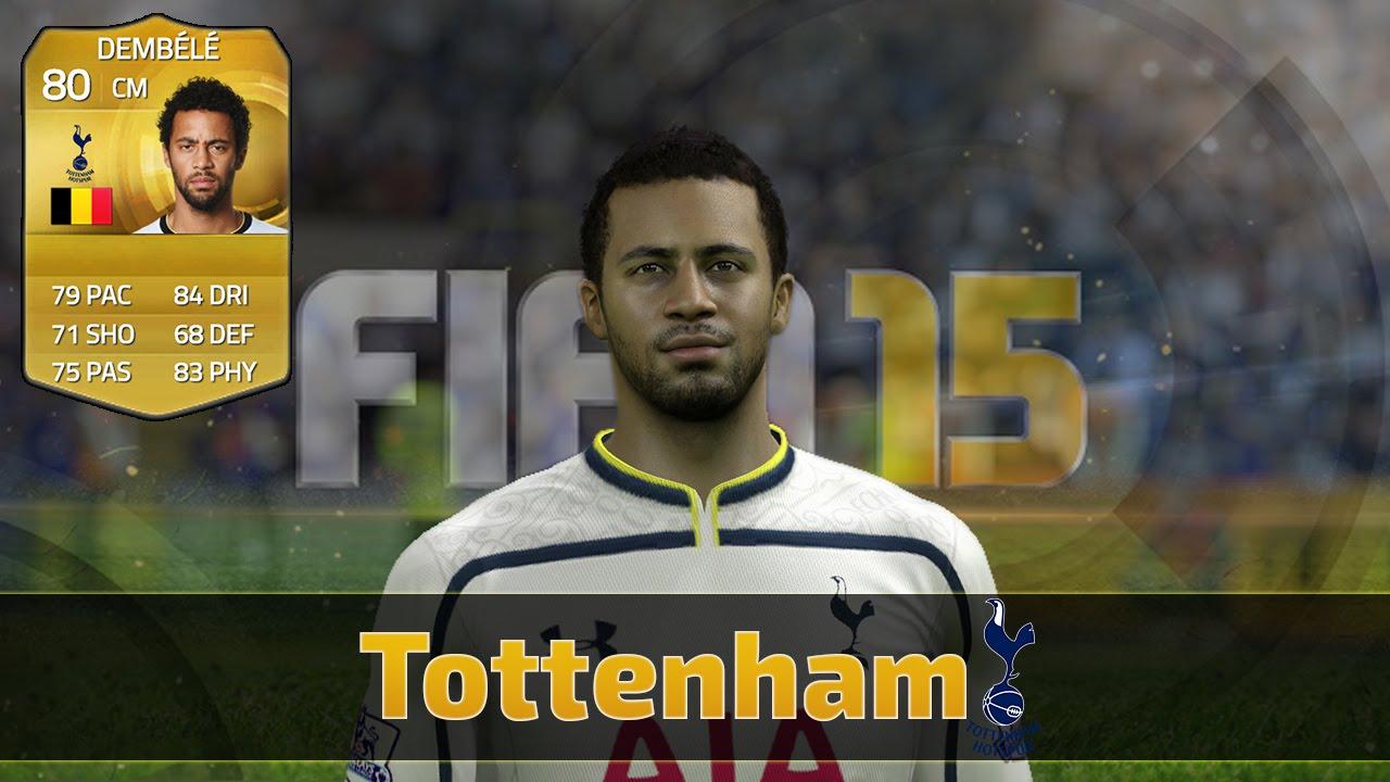 FIFA 15 | Faces | Tottenham Hotspur - YouTube