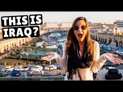 IRAQ First Impressions | Walking The Streets Of Erbil (friendliest People)