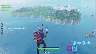 Fortnite BUG in Creative returning to the island of Batlle Royale