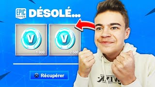 Download Video ENFIN ! EPIC GAMES a REMBOURSÉ mes V-BUCKS sur FORTNITE ! 😁 MP3 3GP MP4