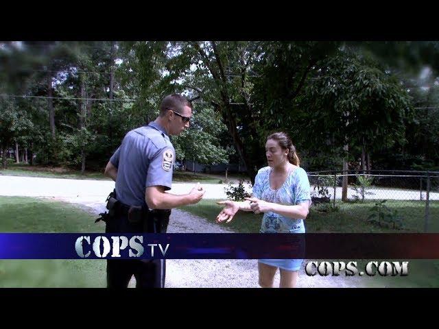 Bite Thy Neighbor, Officer Hawkins, COPS TV SHOW