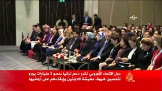 أردوغان: أوروبا أدركت متأحرا أهمية تركيا بملف اللاجئين