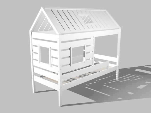 Neu Kinderbett Holz Weiß | Apiyn.net