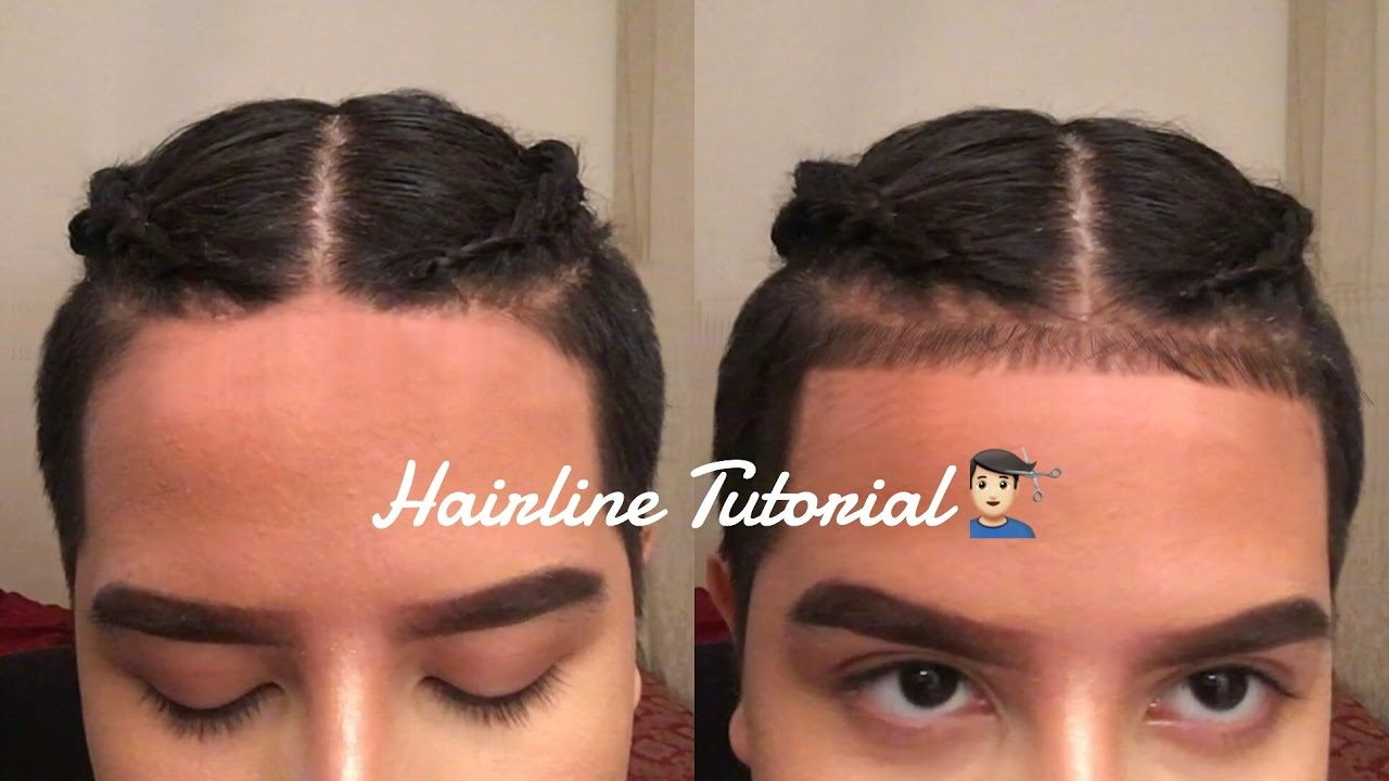 Baby hairs on hairline men