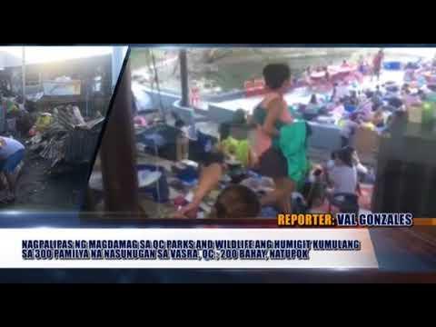 MGA RESIDENTENG NASUNUGAN SA QUEZON CITY