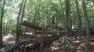 White Face Downhill Mtb Moving Bridge