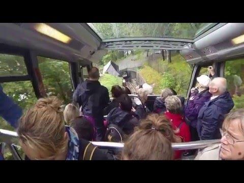 Floibanen funicular railway, Bergen, Norway