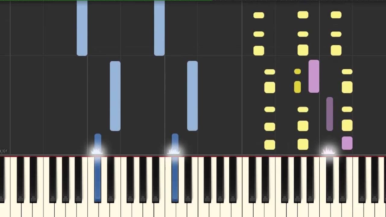 Piano Tutorial Lily Allen Somewhere Only We Know 50 Speed