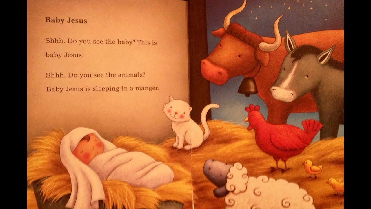 Children's Bible Story -Baby Jesus is Born, Toddlers #54 ...