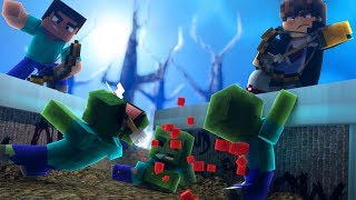 Minecraft: DESAFIO DA BASE 100% SEGURA CONTRA APOCALIPSE ZUMBI ‹ JUAUM ›