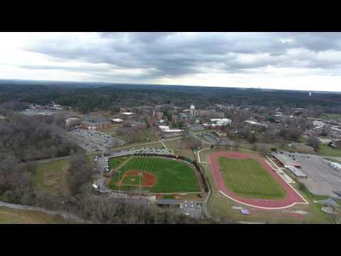 The University of Montevallo aerial footage