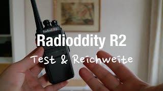 Radioddity R2 PMR Funkgeräte (Test & Reichweite)