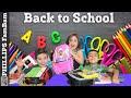 MASSIVE SCHOOL SUPPLIES FOR 3 KIDS | BACK TO SCHOOL SUPPLY HAUL | PHILLIPS FamBam Vlogs