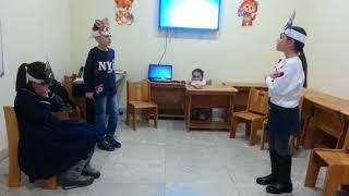 Фрагмент занятия в группе обучения разговорному осетинскому языку для школьников 1 4 кл