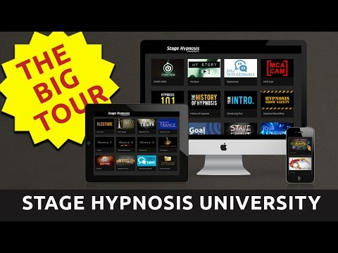 The Grand Tour of Stage Hypnosis University