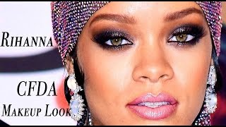Rihanna Inspired Makeup - CFDA Awards Thumbnail