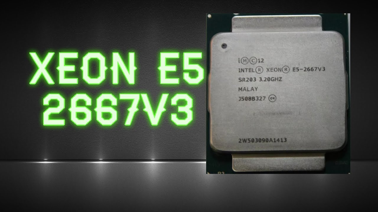 Распаковка и тест в играх восьмиядерного процессора Xeon E5-2667v3