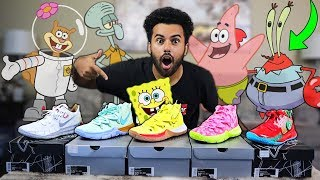Download I Bought EVERY PAIR OF SPONGEBOB SQUAREPANTS NIKE KYRIE 5 Sneakers!! *$1,000 SOLD OUT!!*