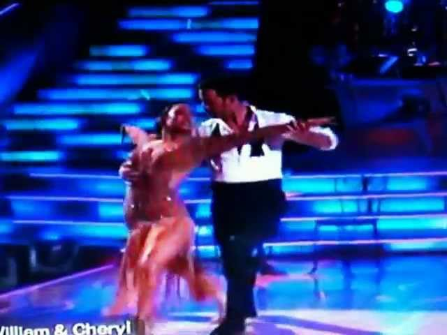 Dancing With The Stars DWTS William Levy Cheryl Burke Argentine Tango Latin Night