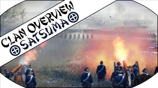Welcome to my Clan Overview of the Satsuma on Total War: Shogun 2 -...