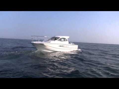 ヤマハボ-トDFR で函館湾を走る1