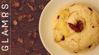 केले और सूजी का हलवा रेसिपी - banana sheera recipe in hindi   easy recipe for indian sweets