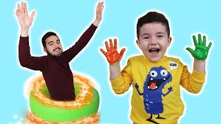 Yusuf Sihirli Renkli Saklambaç | Magic Colored Hide and Seek, funny videos collection