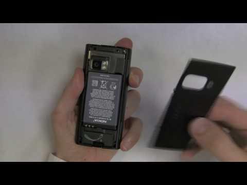 Nokia X6 - Installer la carte SIM