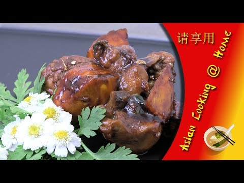 Cooking Chinese Chicken & Sweet Potato @ Home (Asian Style Recipe)