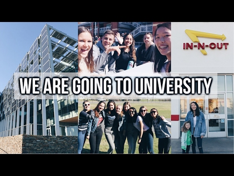 WE ARE GOING TO UNIVERSITY & Q&A TIME! USA VLOG #4