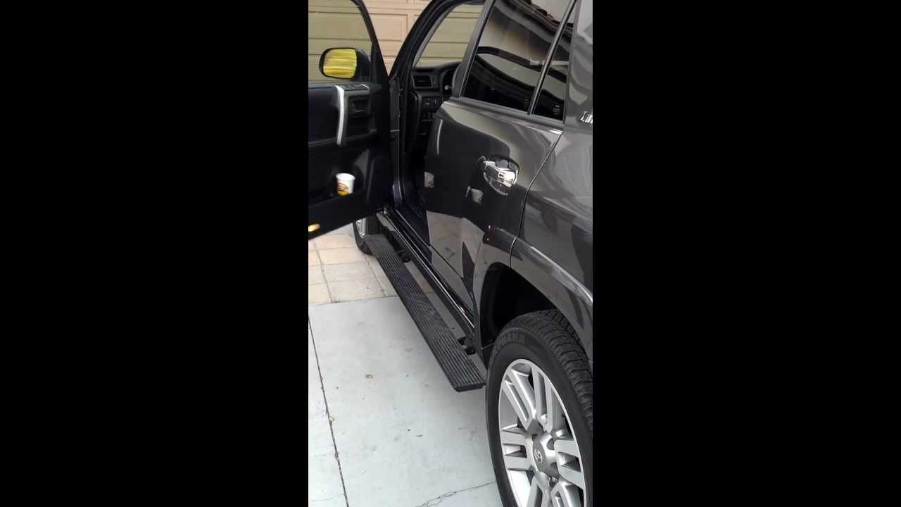Automatic Running Boards On 2012 Toyota 4runner Limited