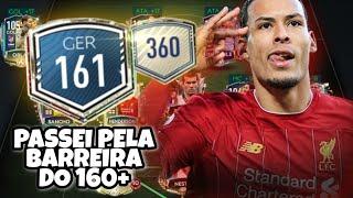 ALCANCEI O GER 161 E MUITAS DÚVIDAS - EVOLUÇÃO DO TIME EP. 44 - FIFA 2020 MOBILE