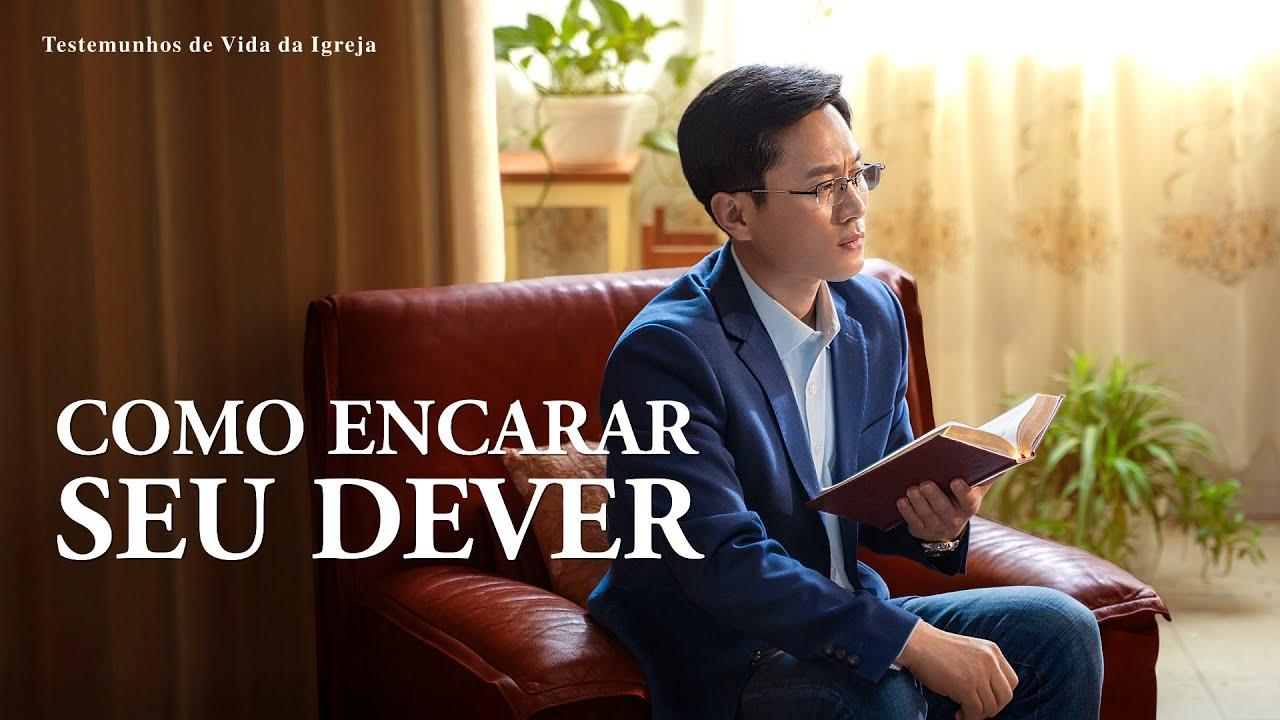 """Testemunho evangélico 2020 """"Como encarar seu dever"""""""