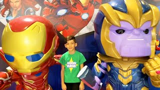 Jason in Trip with Airplane to Toys Festival Riyadh Vlog