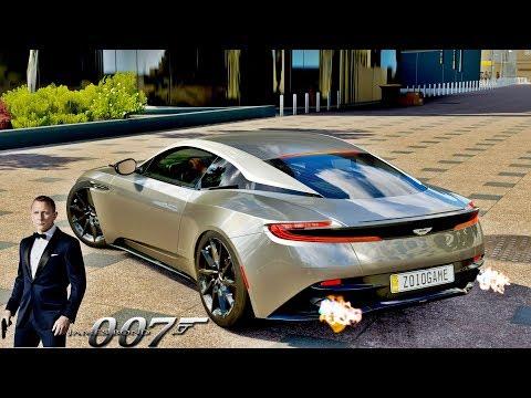Aston Martin DB11 Do James Bond 007 - Forza Horizon 3 GoPro - ZOIOOGAMER