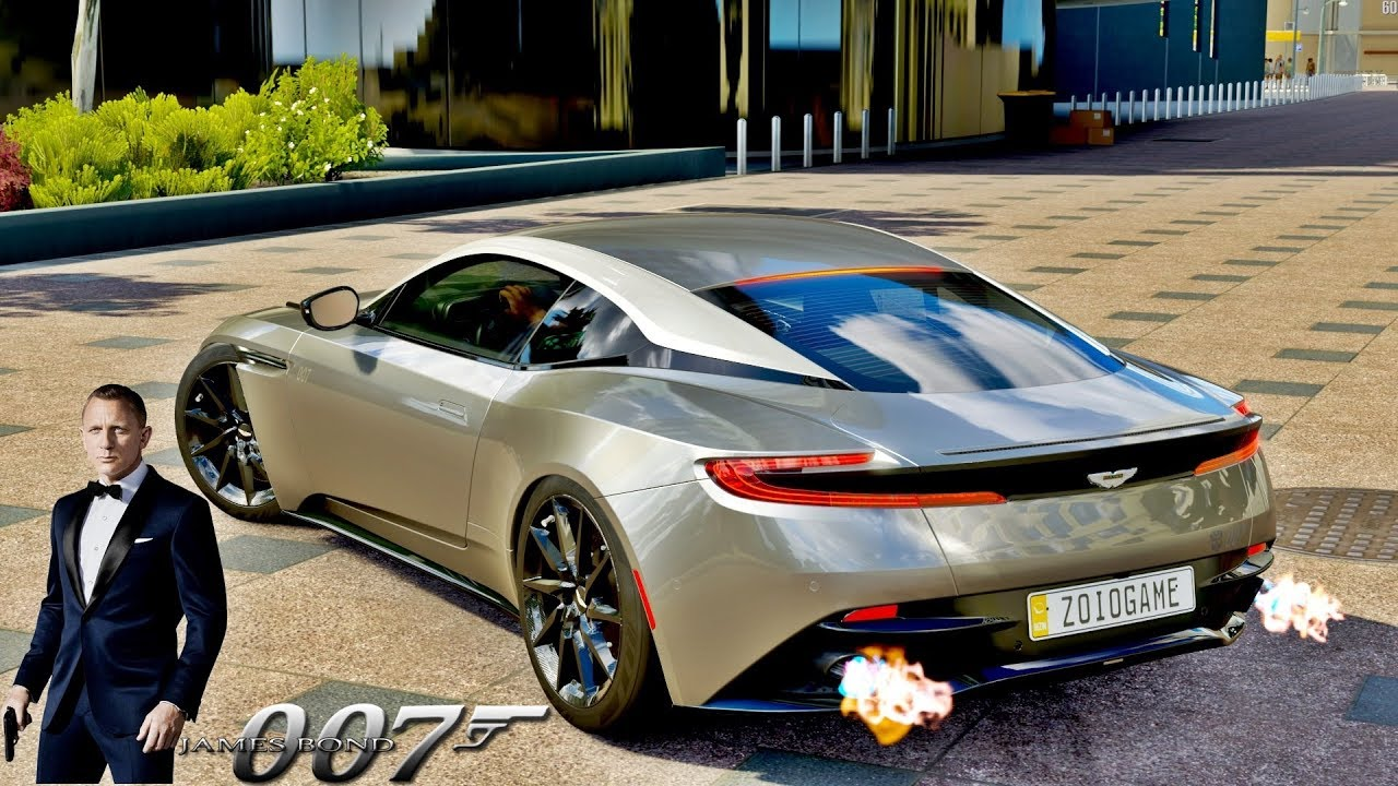 Aston Martin Db11 Do James Bond 007 Forza Horizon 3 Gopro Zoioogamer Youtube