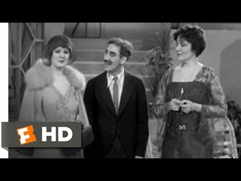 Animal Crackers (3/9) Movie CLIP - Well, Three Anyway (1930) HD